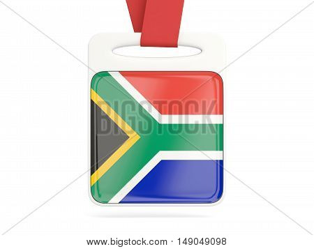 Flag Of South Africa, Square Card