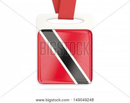 Flag Of Trinidad And Tobago, Square Card