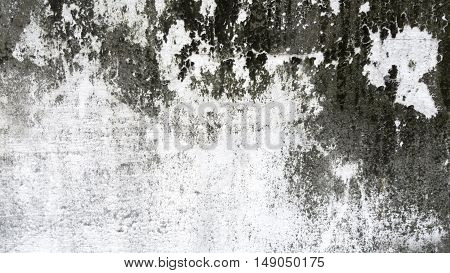 Grunge white and grey cement wall texture background.