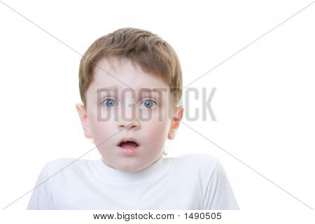 Boy Scared