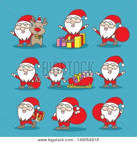 happy Santa Claus great for your design