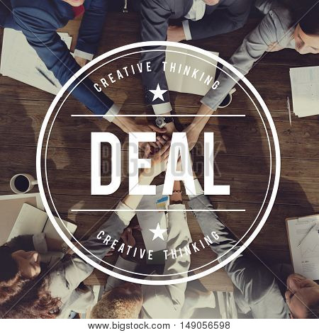Deal Agreement Agreed Collaboration Unity Concept