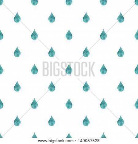 Rain Background Blue Watercolor Drops Drops Seamless Background Water Drop Blue rainy Watercolor Pattern Drop Fall Background Autumn Rain Drops Abstract texture