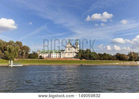 Church on Skalka Pauline Fathers Monastery Krakow Poland.