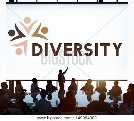 Diversity Nationalitise Unity Togetherness Graphic Concept
