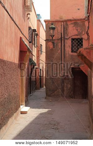 Alley In Marrakesh