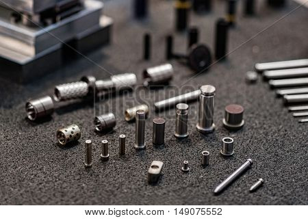 Industrial Spare Parts, color image, horizontal image