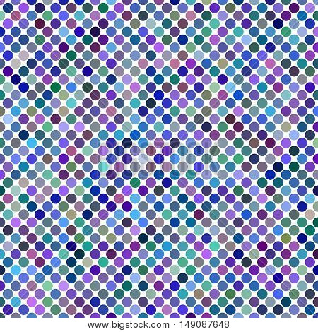 Multicolored abstract dot background design - vector illustration