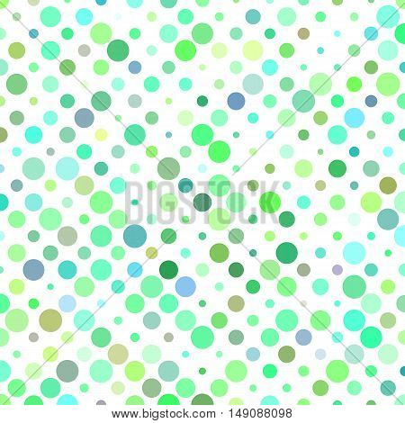 Color abstract circle pattern background design - vector illustration