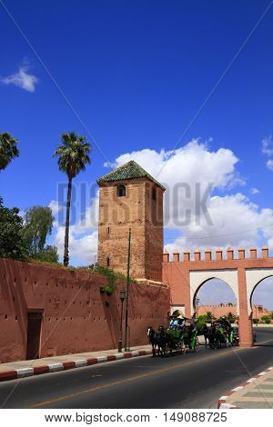 Marrakesh Old City Walls