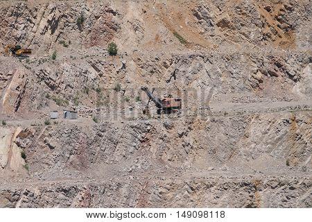Limestone mine