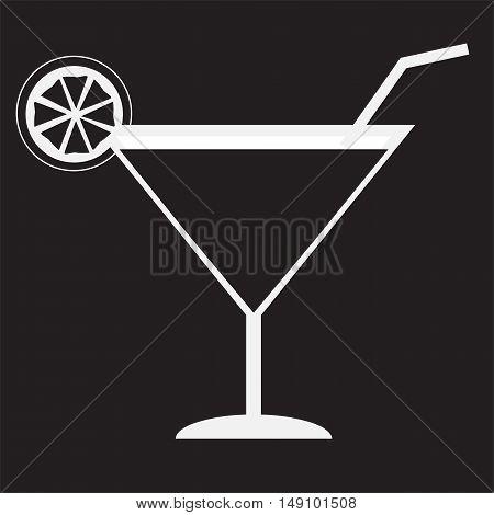 juice icon, glass of juice icon, juice icon on black background