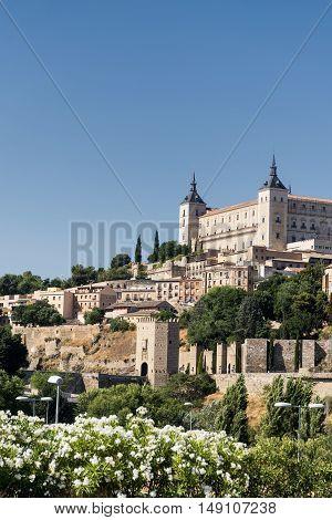 Toledo (Castilla-La Mancha Spain): the Alcazar historic castle