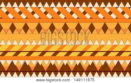 Abstract boho style geometric background. Vector design