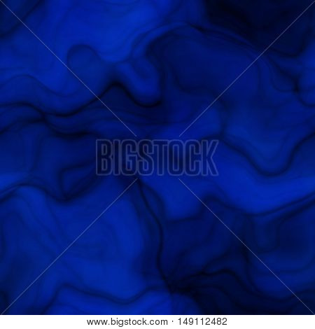Deep blue wavy abstract background and backdrop