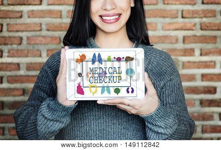 Health care Treatment Prevention Medical  Checkup Concept