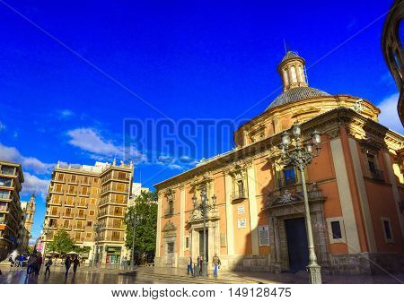 Valencia city - shots of Spain - Travel Europe - november