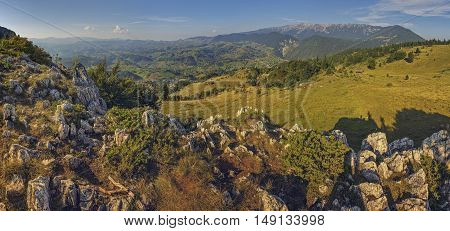 Scenic Romanian Panorama