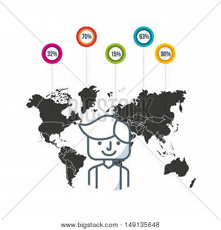 community people of the world vector illustration design