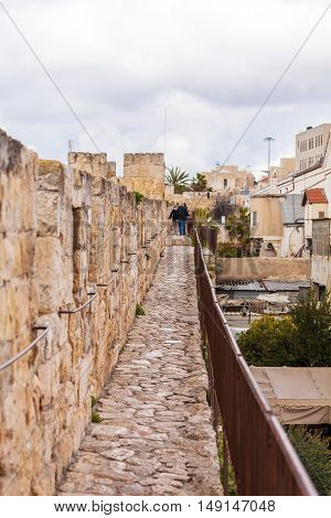 Excursion On Walls Of Ancient City, Jerusalem