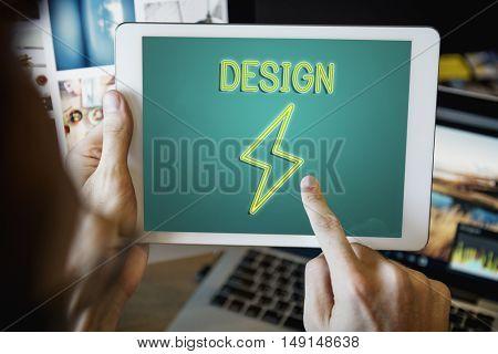 Solution Ideas Imagination Inspiration Concept