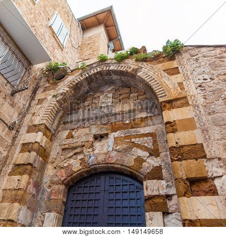 Arche With Muslim Ornament, Acre