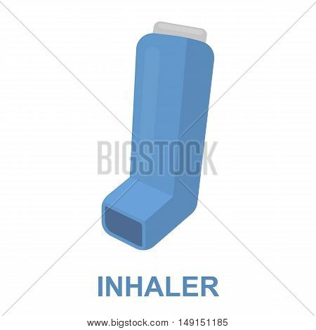 Inhaler icon cartoon. Single medicine icon from the big medical, healthcare collection.