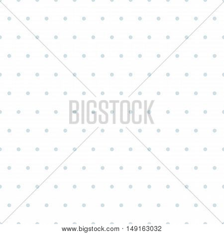 Simple, seamless polka dot background, vector seamless pattern. Random dotted texture collection, vector seamless patterns. Gray dots on white background