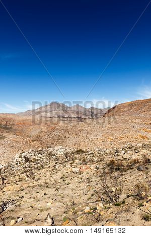 Portrait  - Valley Of Death In The Swartberg Pass