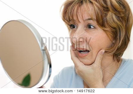 Surprise Mature Woman