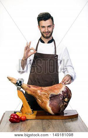 Chef Promotes Hip Pork