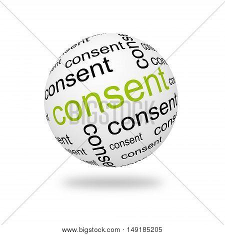 3D Sphere Consent
