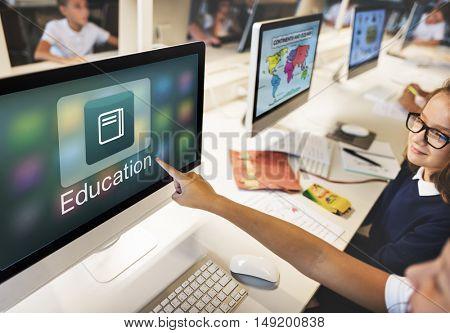 Education Application Knowledge Development Concept