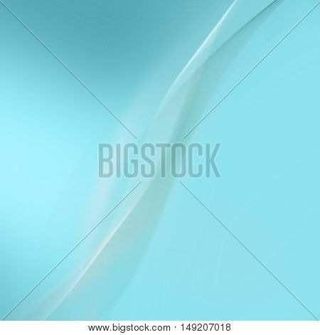 Abstract soft blue background with smooth lines