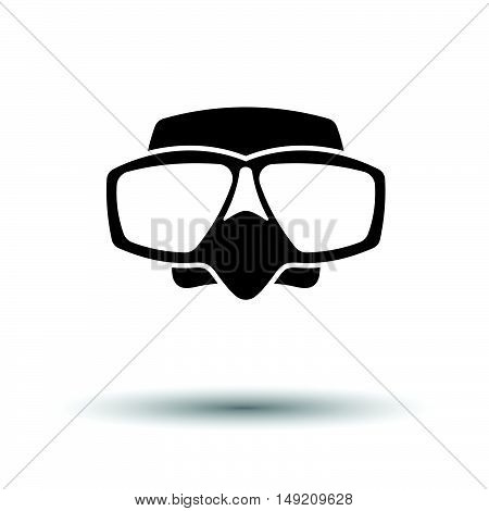 Icon Of Scuba Mask