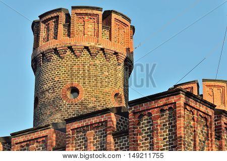 Friedrichsburg Gate - old German Fort in Koenigsberg. Kaliningrad until 1946 Koenigsberg Russia