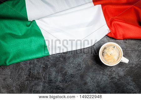 Traditional italian coffee