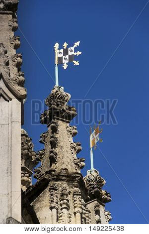 Chichester Cross In Centre Of Chichester, West Sussex England Uk