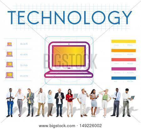 Technology Online Internet Networking Concept