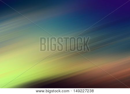 color full motion blur texture & illustration background blue and yellow
