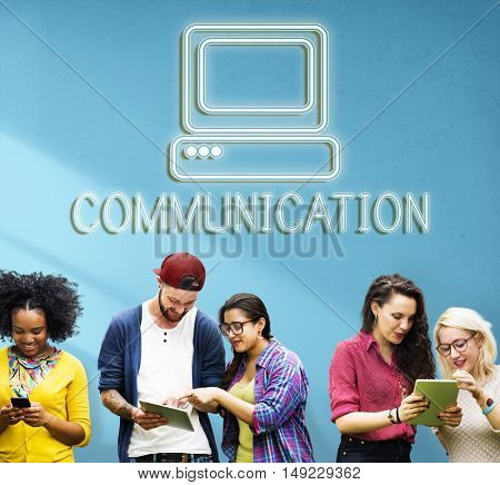 Communication Digital Computer Media Graphic Concept