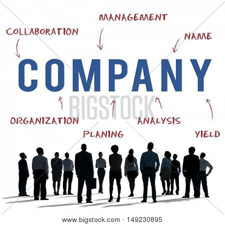 Company Business Strategy Marketing Concept
