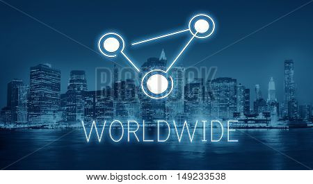 Global Communications Connection Globalization Technology Concept