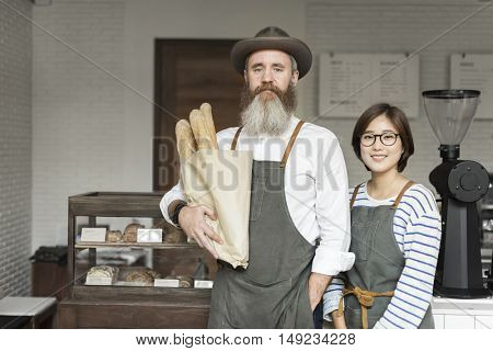 Coffee Cafe Professional Uniform Appliance Concept
