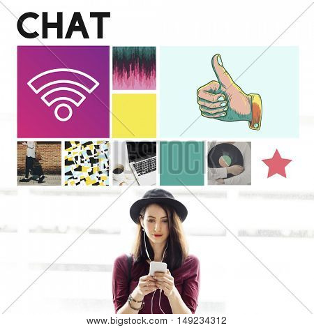 Chat Communication Connection Message Social Concept