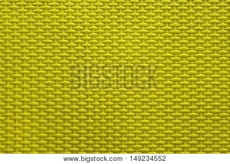 Yellow golden texture basket weave pattern handmade for background