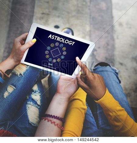 Astrology Horoscope Zodiac Sign Concept
