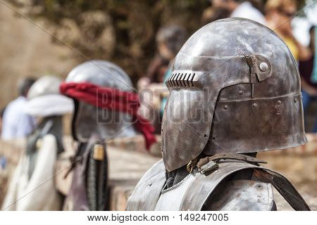 Reconquest warriors armour elements and suits. Moorish and christian warriors