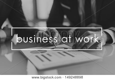 Work Team Business Career Concept