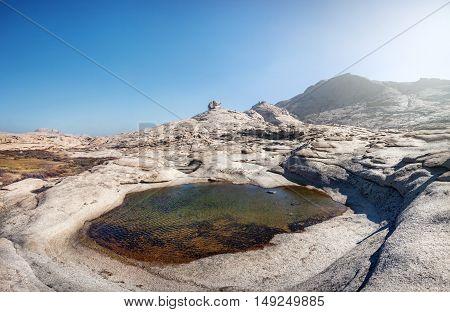 Extinct Volcano In Kazakhstan